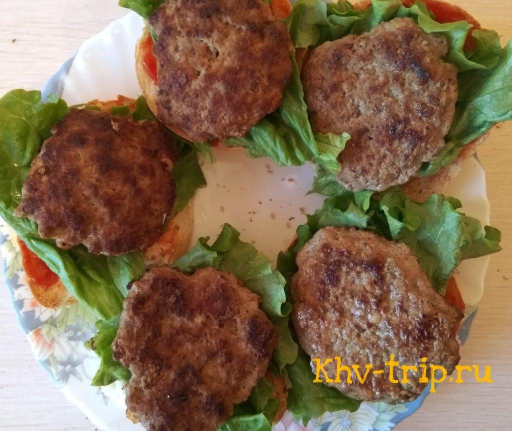 Готовим гамбургеры