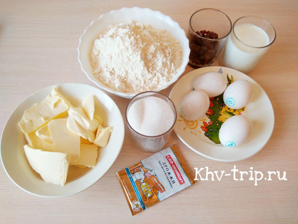 Пасхальный кулич простой рецепт