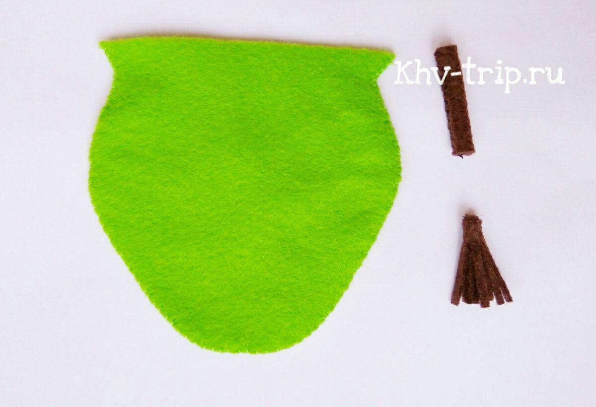 фрукты из ткани выкройка