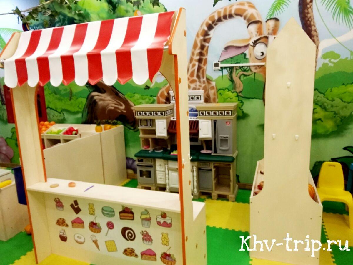 детская игровая комната Хабаровск