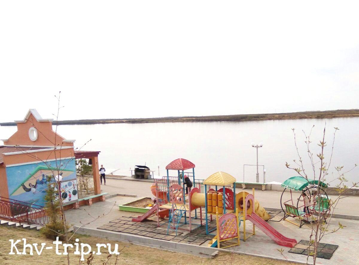 детская игровая площадка Заимка