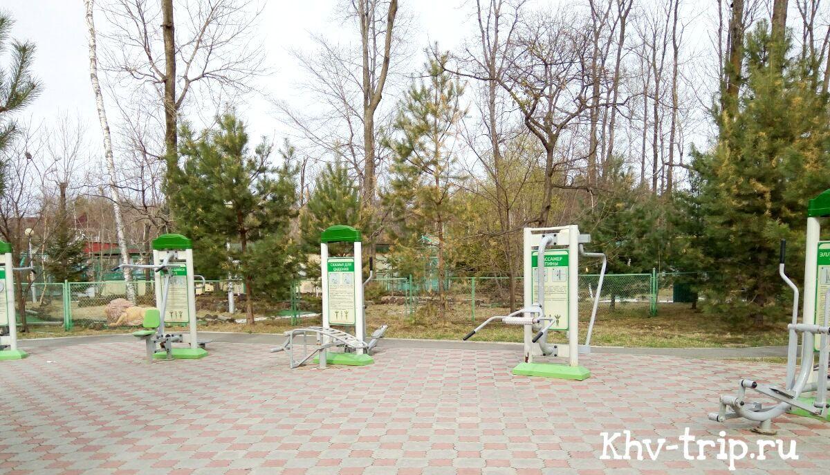 Ривьера парк Заимка Хабаровск