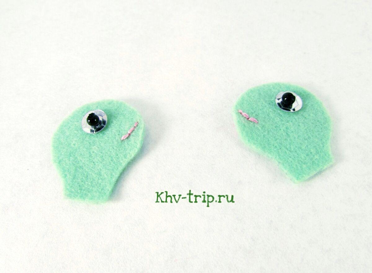 игрушка из фетра черепаха