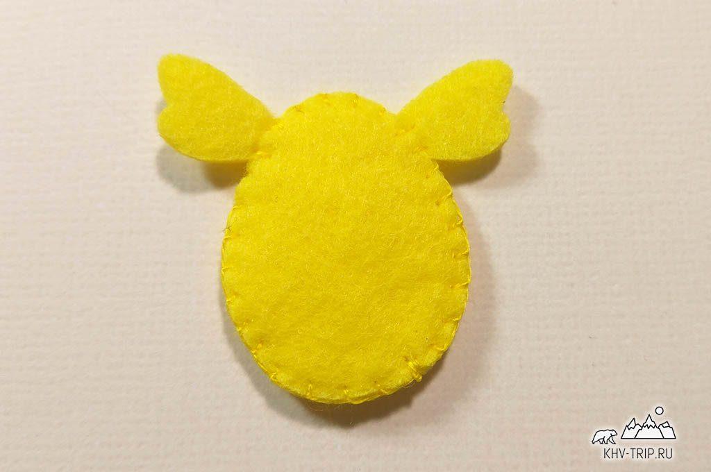 пасхальная поделка подставка для яйца цыпленок