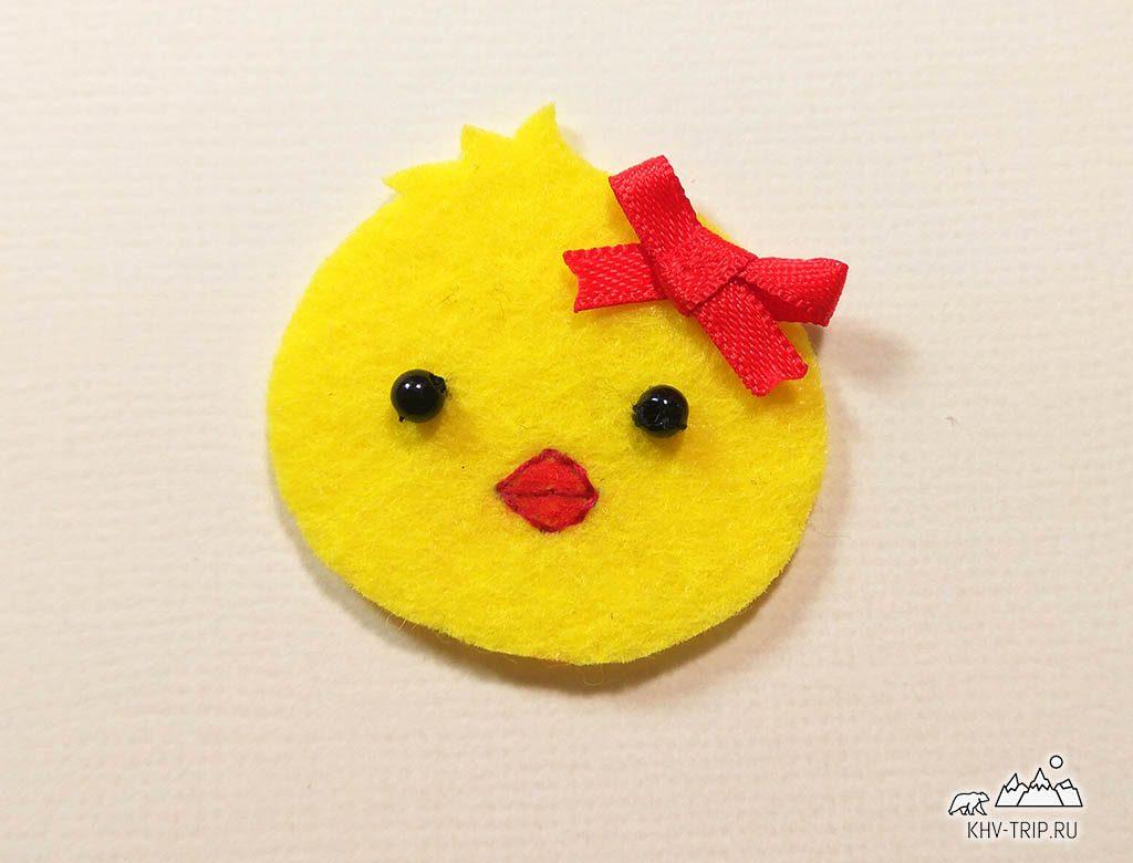 пасхальный декор для яиц цыпленок