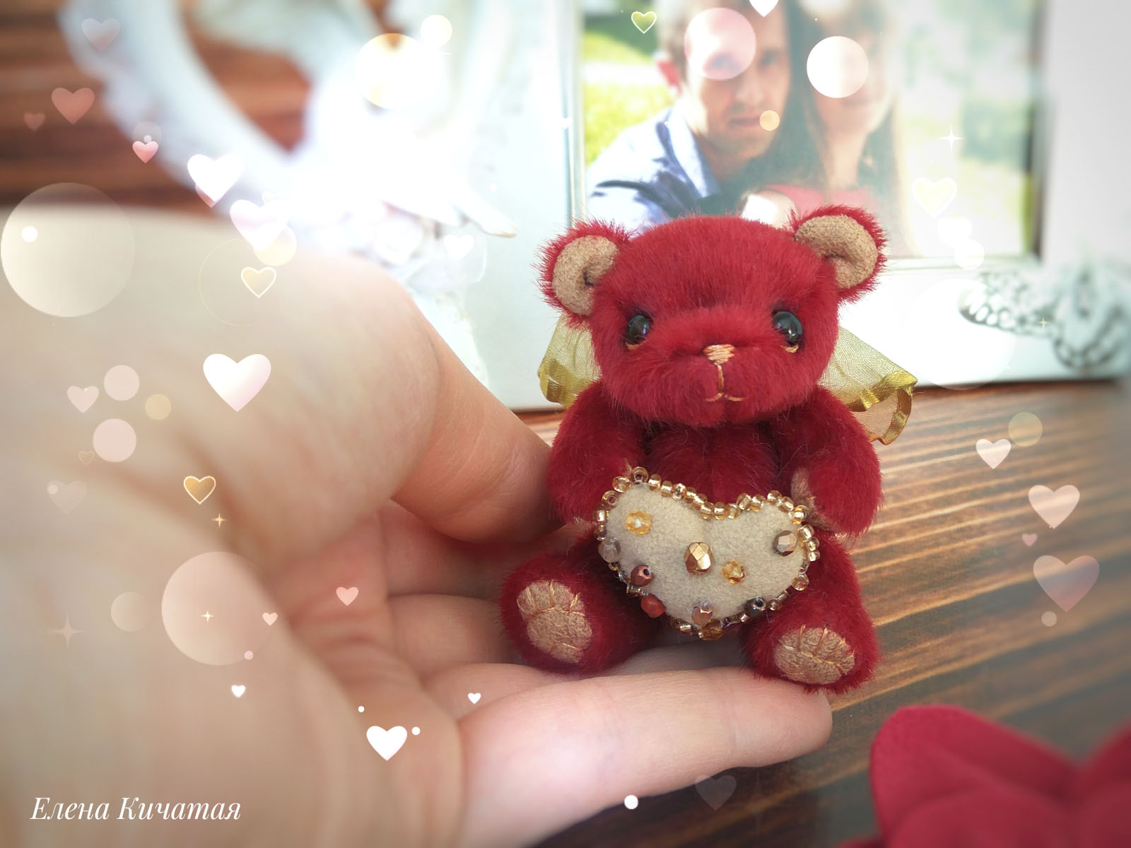 тедди мишка Амур день всех влюбленных, подарок
